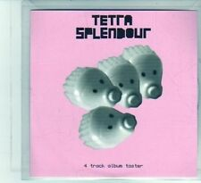 (DU974) Tetra Splendour, 4 track sampler - 2001 DJ CD