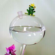 Durstkugel Große Bewässerungskugel mit Froschkönig und Silikonverschluss