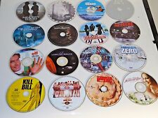 WHOLESALE LOT OF 100 ASSORTED DVDS MOVIES BULK MIXED USED MOVIES! A-List Titles