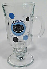 OREO Cookie Glass Mug 8oz with Pedestal , Houston Harvest