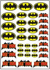 1/64, 1/87 - DECALS FOR HOT WHEELS, MATCHBOX, SLOT CAR: BATMAN