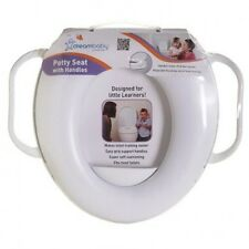 DREAM BABY POTTY SEAT WITH HANDLES SUPER SOFT CUSHIONING FITS MOST TOILETS