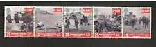 1994 Great Britain #1566a D DAY set of 5 stamps MNH