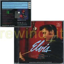 "ELVIS PRESLEY ""TODAY, TOMORROW & FOREVER"" RARE CD PROMO SAMPLER - SEALED"