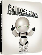 The Hitchhikers Guide to the Galaxy - Blu-Ray Steelbook -
