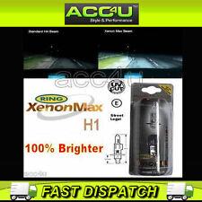 Ring Xenon Max Halogen H1 100% Brighter 12v Car Upgrade Headlamp Headlight Bulbs