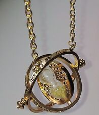BEAUTIFUL GOLD TIMETURNER. COLLANA HERMIONE GRANGER / segue hallows.harry / RON.