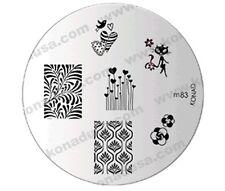 M83 IMAGE PLATE Konad Stamping Nail Art Design Nail NEW