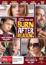 Burn After Reading[DVD], LIKE NEW, Region 4 + 2, Next Day Postage....5844