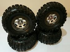 LOSI COMP CRAWLER WHEELS AND TYRES 2.2 -NIGHT CRAWLER AXIAL