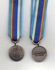 **NEW** UNITED NATIONS MINIATURE  MEDAL FOR MALI  ( MINUSMA )