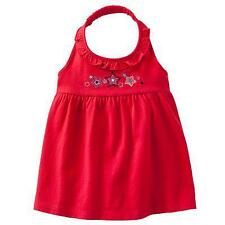 SFK Jumping Beans Star-Embroidered Halter Top - Red