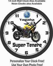 2016 YAMAHA SUPER TENERE MOTORCYCLE WALL CLOCK-FREE USA SHIP!