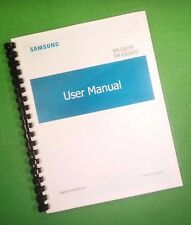 COLOR PRINTED Samsung Galaxy Phone S7 Edge G935 Manual, User Guide 183 Pages