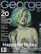 DREW BARRYMORE George Magazine 9/96 BRIGITTE BARDOT PC