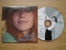 MARISOL De Marisol A Pepa Flores CD-SINGLE PROM0 1999 Tombola +3
