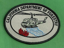 CALFIRE CALIFORNIA DEPARTMENT OF FORESTRY HELITACK FIRE CREW PATCH