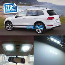 19x White Interior Light LED Package kit Fit VW Volkswagen Touareg T3