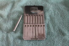 VINTAGE TASCO ARITHMOMETER ADDING MACHINE CALCULATOR WITH PEN / STYLUS