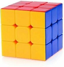 Rubik's Cube - 3x3x3 Puzzle Extra Smooth - High Speed Sticker less