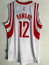 Adidas Swingman 2015-16 NBA Jersey Houston Rockets Dwight Howard White sz L