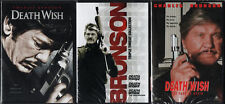 DEATH WISH COMPLETE COLLECTION 1-5 DVD 3 DVD SET 1/2/3/4/5 NEW SEALED C BRONSON