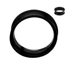 Super Thin Silicone Dbl Flared Tunnels - Sold in Pairs - 6 Colors Avail - PSLHL2