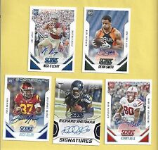 2015 Score Rookie Autographs #397 Nick O'Leary - Florida State - Bills