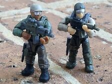 MEGA BLOKS 06875 CALL OF DUTY JUNGLE TROOPERS Micro Figure #4 & 5!!