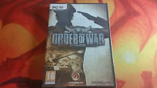 ORDER OF WAR PRECINTADO SEALED PC ENVÍO 24/48H