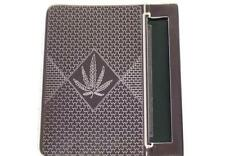 Canabis Leaf design - TOBACCO ROLLING MACHINE - cigarete holder cigerette roller