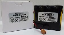 AMANO PIX-3000 PIX-3000X REPLACEMENT BATTERY