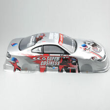 190MM 1/10 1:10 RC Body Shell Painted PVC +Light Cup+Rear Wing On Road Drift Car