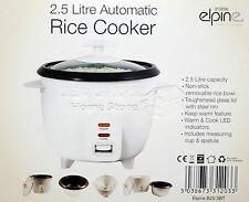 2.5L LITRE NON STICK AUTOMATIC ELECTRIC RICE COOKER POT WARMER WARM COOK 31203