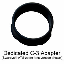 PhoneSkope C-3 adapter for Swarovski ATS / STS / ATM / STM scope & 25-50x zoom.