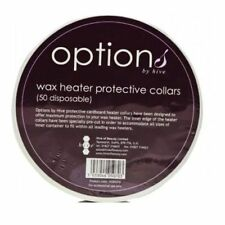 Options by Hive,Wax Heater Cardboard Protective Collars 50 Disposable in a Pack