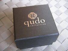 Qudo * Ring Schachtel Ringschatulle Geschenkverpackung Etui Box Schächtelchen