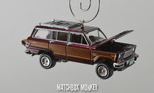 Vintage Style 1981 Custom AMC Jeep Wagoneer Limited 4x4 Christmas Ornament 1/64
