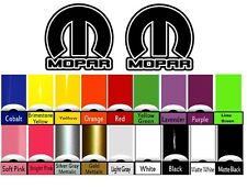 Dodge Mopar Sticker Decal Vinyl Decals Hemi SRT Chrysler Jeep