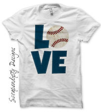 Baseball Iron on Transfer, Baseball Love Shirt, Boys Baseball Tshirt, Easy DIY