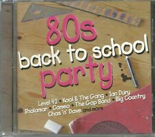 80s BACK TO SCHOOL PARTY CD LEVEL 42 - IAN DURY & MORE