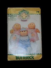 Cabbage Patch Kid Doll PREEMIE Clothes Pattern Cut Complete 6981 346 Bunting