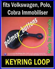 fits Volkswagen Cobra remote key fob - 1 Key Ring Loop Replacement