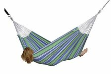 Brazilian Style Double Hammock for Home Yard Outdoor Patio Garden - Oasis