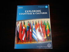 Exploring Countries & Cultures My Father's World homeschooling curriculum te