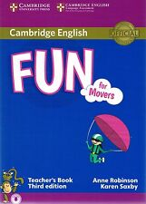Cambridge English FUN FOR MOVERS Teacher's Book with Answers THIRD EDITION @New@