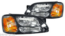 New Replacement Headlight Assembly PAIR / FOR SUBARU OUTBACK BAJA & LEGACY