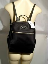 Kate Spade Blake Avenue Hilo Backpack  Book Black Nylon Travel Shoulder Bag NEW