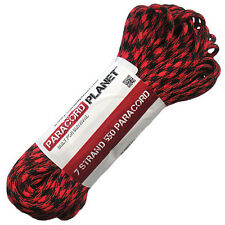 Paracord 550 Mil Spec Type III 7 strand parachute cord 10ft, 25ft, 50ft, 100 ft