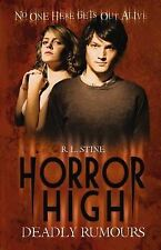 R.L. Stine Deadly Rumours (Horror High) Very Good Book